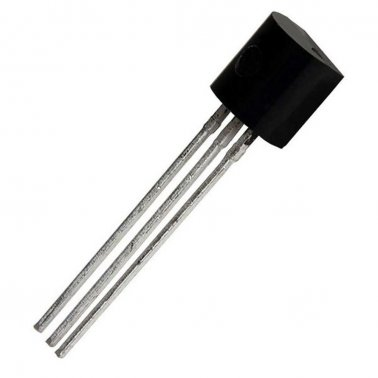 BC237B Transistor NPN 45V 100mA TO-92 ON Semiconductor