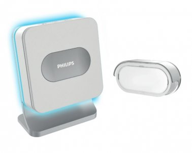 Campanello wireless Philips WelcomeBell 300 Color con 8 suonerie e notifiche a colori