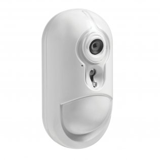 DSC PG8934P Sensore di movimento PIR wireless PowerG con telecamera integrata