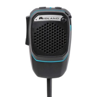 Midland DUAL MIKE Microfono Digitale Preamplificato Bluetooth per CB  con connettore 4 pin C1283