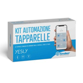 Kit automazione tapparelle Finder YESLY Bluetooth BLE 13.S2.8.230.B000.POA