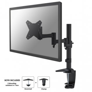 Supporto da scrivania per monitor NewStar FPMA-D1330BLACK
