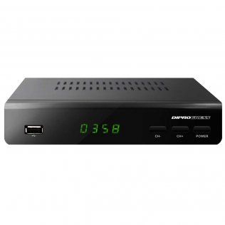 DiProgress DPT203HD Decoder Digitale Terrestre DVB-T2 HEVC Main10