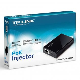 Tp-Link TL-POE150S Alimentatore Iniettore PoE Power over Ethernet (PoE) IEEE 802.3af