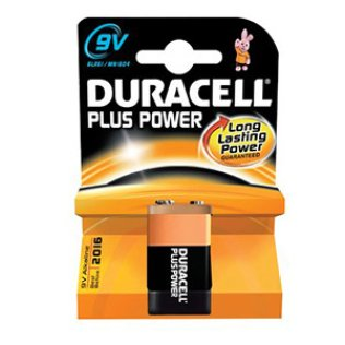 Pila DURACELL PLUS POWER 9V 6LR61