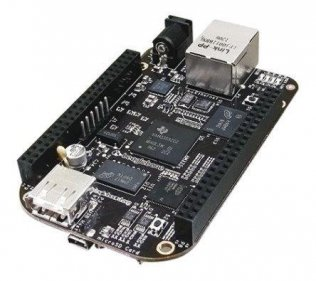 BeagleBone Black Rev.C Cortex-A8 1GHz, RAM 512MB DDR3, 4GB eMMC on-board Flash Storage