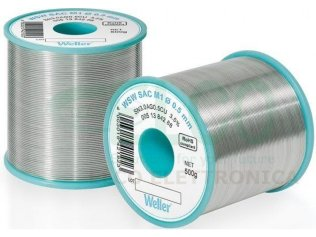Weller WSW 1,2mm Stagno SAC M1 500g T0051386199