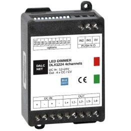 DLX1224-4CV-BLE Dimmer Bluetooth per LED Multicanale