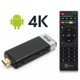 Smart Box Stick Android 4K Ultra HD Telesystem TS UP 4K Stealth 2100529