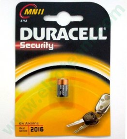 Batteria DURACELL Security MN11