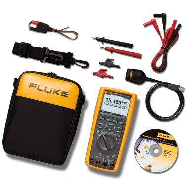 Multimetro digitale evoluto Fluke 287 + software FlukeView Forms