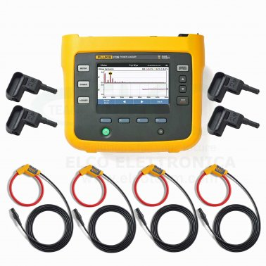 Fluke 1736 Analizzatore di Power Quality Trifase GOLD Edition