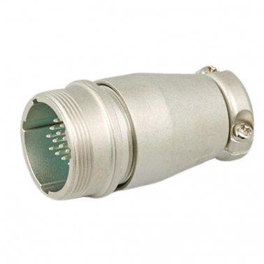 Presa volante 16 poli maschio 16 pin Male Cable Receptacle SRCN1A25-16P