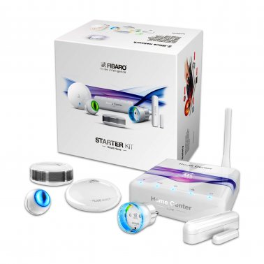 Fibaro Z-Wave Plus Starter KIT con Home Center Lite e 5 accessori