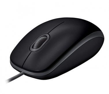 Logitech B110 SILENT Mouse Ottico, USB, Plug and Play
