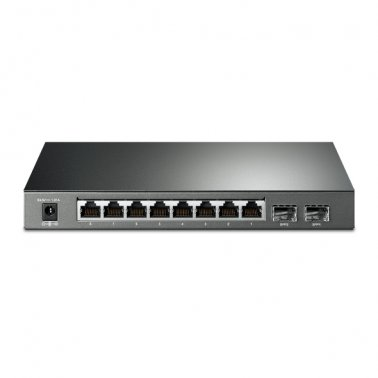 TP-Link TL-SG2210P Smart Switch JetStream Gigabit 8 Porte PoE+ con 2 Slot SFP