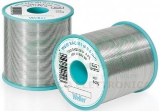 Weller WSW 0,5mm Stagno SAC L0 500g