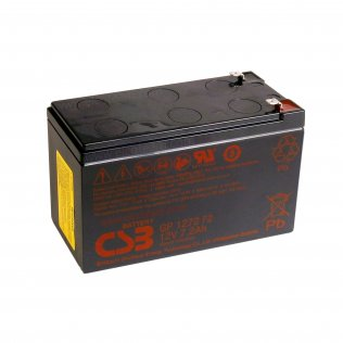 CSB GP1272 F2 Batteria ermetica al piombo 12V 7,2Ah faston 6,35 mm