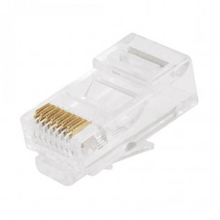 Connettore RJ45 Cat.5e 8P/8C a Crimpare