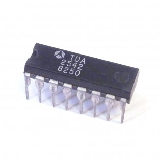 TDA2542 Circuito Integrato Amplificatore IF e demodulatore AM