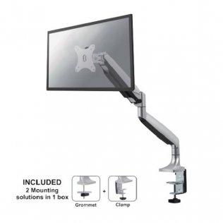 Supporto da scrivania per monitor NewStar NM-D750SILVER