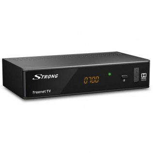 Strong SRT 8541FTA Decoder Ricevitore Digitale Terrestre DVB T2 10 bits HD