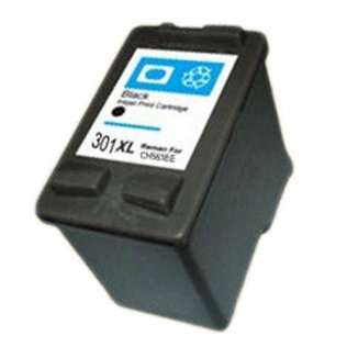 Cartuccia inchiostro nero 15ml compatibile HP 1050,2050,2050S,1000,3000.3050,J610A CH563EE
