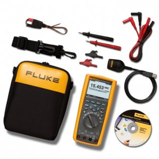 Multimetro digitale evoluto Fluke 289 + software FlukeView Forms