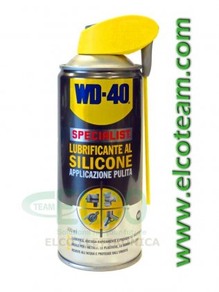Spray WD-40 Lubrificante al Silicone 400ml