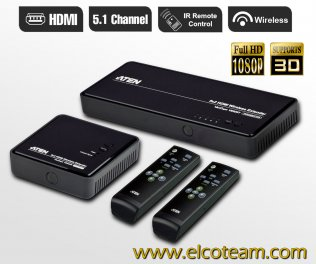 Aten VE829 Estensore HDMI e Matrice Wireless 5x2