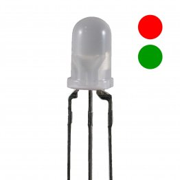 Kingbright L-59EGW LED bicolore Verde/Rosso 5mm