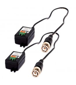 Coppia Balun Convertitore Video UTP Cat.5 BNC 1 CH Fracarro