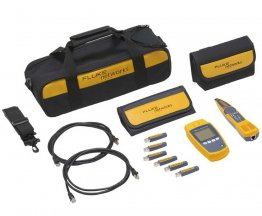 Fluke Networks MicroScanner PoE KIT professionale Verificatore Cavi LAN MS-POE-KIT