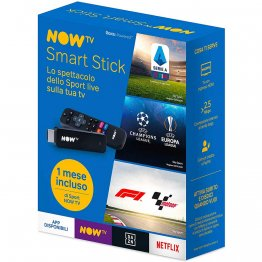 NOW TV Smart Stick con con il primo mese di Sport incluso