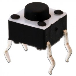 Pulsantino Tact Switch 6x6mm altezza 5mm