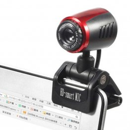 Webcam USB con Microfono