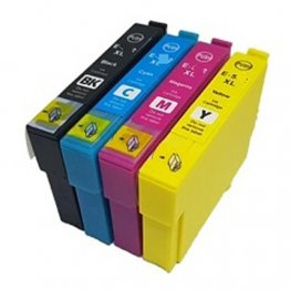 Serbatoio Nero 13ml compatibile Epson XP-2100,3100,WF-2810,2830,2835-0.5K#C13T03A14010
