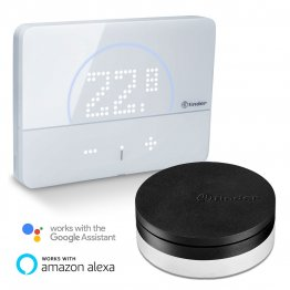 Kit Termostato Smart Finder BLISS 2 con Gateway compatibile Google Home e Amazon Alexa