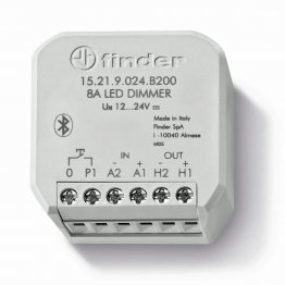 Finder 15219024B200 Dimmer PWM da Incasso per Strisce LED Smart Bluetooth YESLY