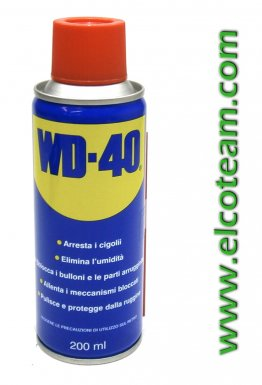 Spray lubrificante disossidante multifunzione WD40 200ml
