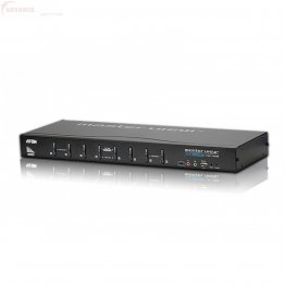 Aten CS1768 Switch KVM DVI a 8 porte con audio e hub USB 2.0