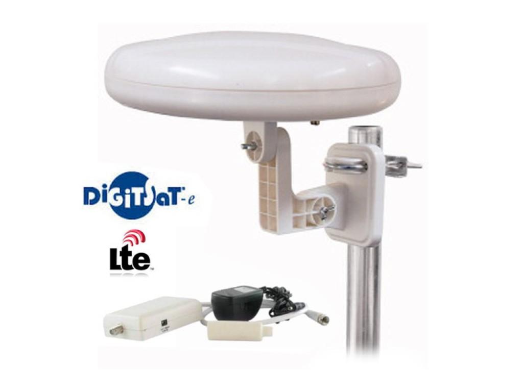 Plafoniera Da Esterno Per Camper : Digitsat 12 12309 00 kit antenna da esterno con amplificatore per