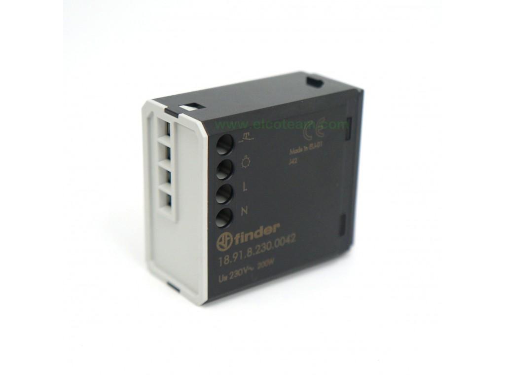 Plafoniera Led Da Esterno Con Sensore Di Movimento : Finder 18.91.8.230.0042 rilevatore di movimento per interno
