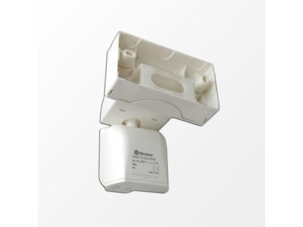 Schema Elettrico Interruttore Crepuscolare 230v : Finder a rilevatore di movimento crepuscolare da