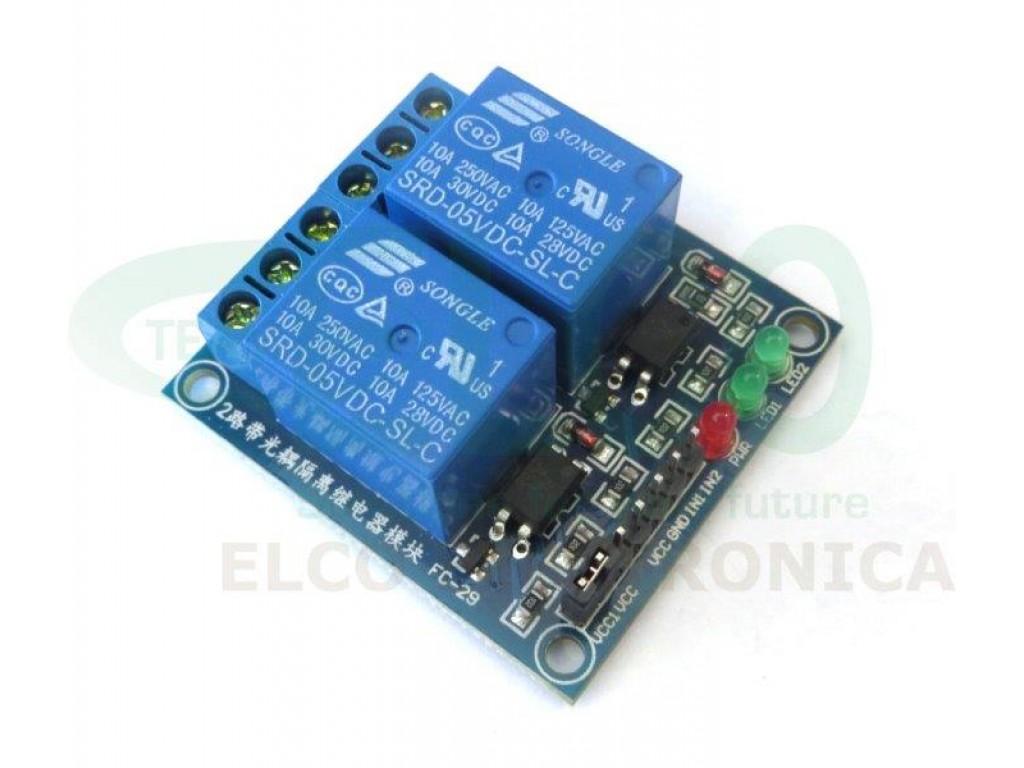 Shield per arduino con relè elettromeccanici bobina v