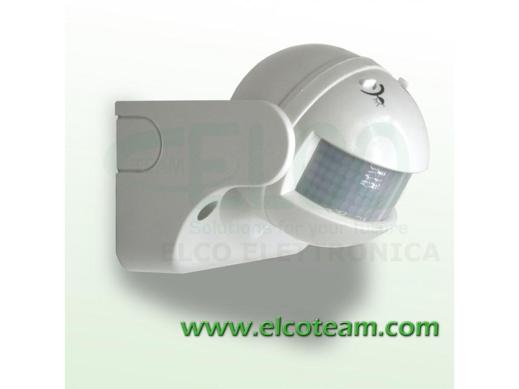 Plafoniere Con Sensore Crepuscolare : Sensore pir crepuscolare per accensione lampade 1200w max elcoteam.com