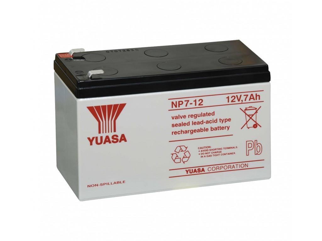 Yuasa np7 12 batteria ermetica al piombo 12v 7ah - Batteria per casa ...