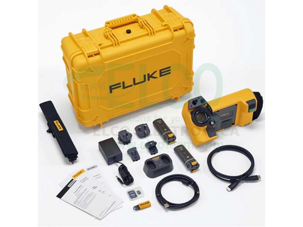 Fluke tix560 termocamera 320x240 640x480 con autofocus - Termocamera prezzi ...