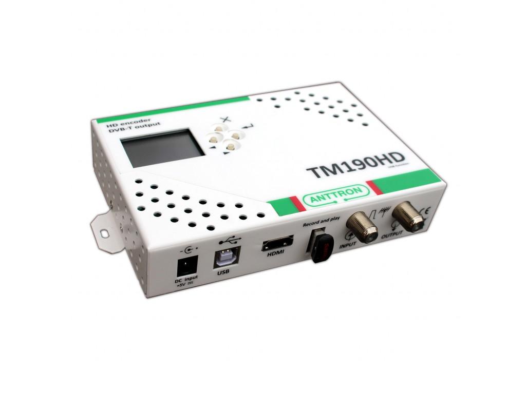 Schema Collegamento Hdmi : Anttron tm hd modulatore digitale hd con ingresso hdmi e player
