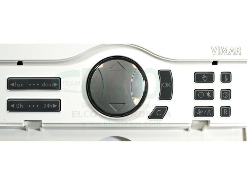 cronotermostato digitale settimanale vimar 01910 bianco On programmazione cronotermostato vimar 01910